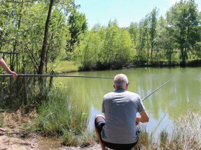 Petit étang pour la pêche